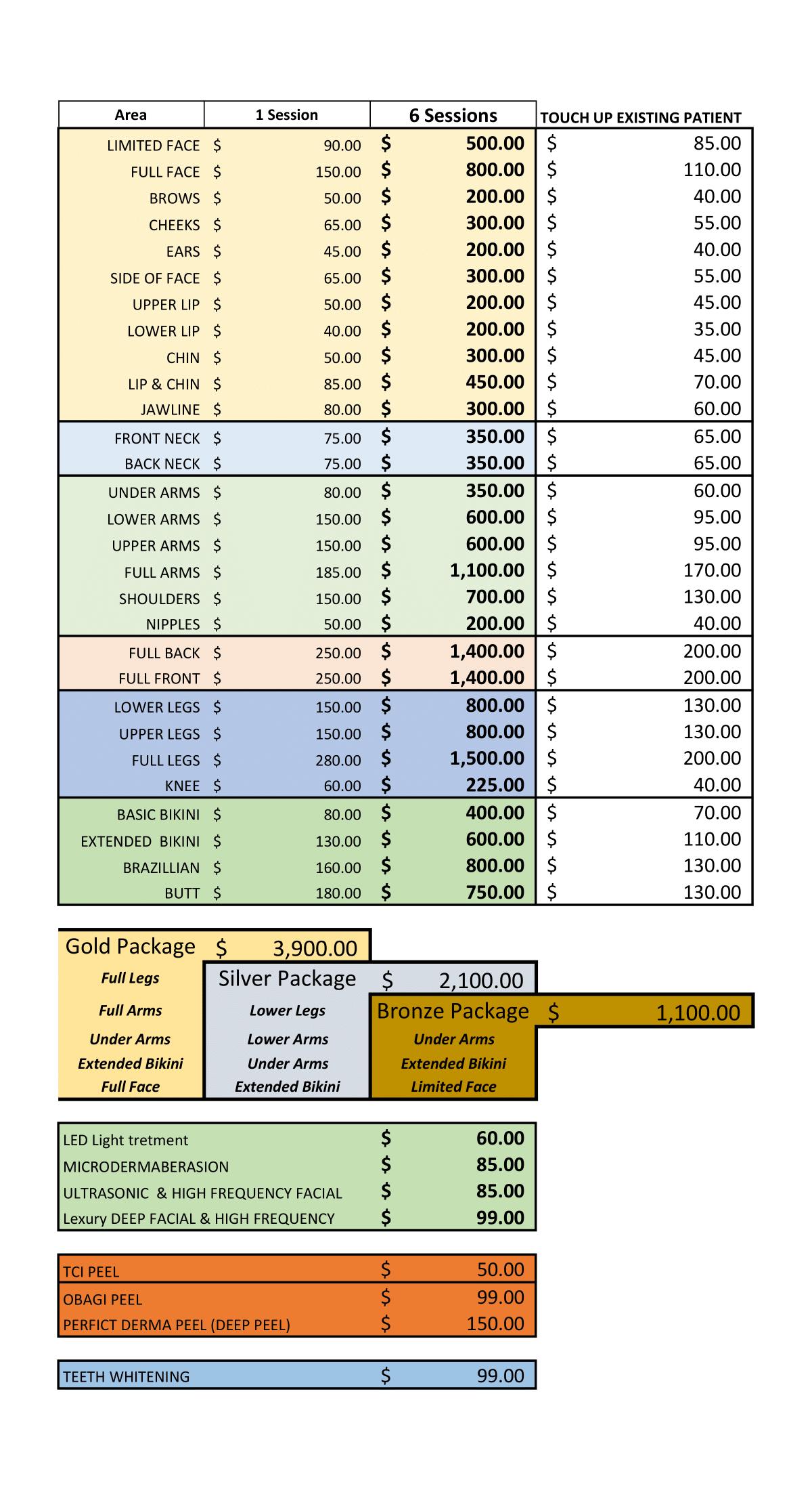SSLC PRICE LIST Spring21.xlsx - Sheet2-1